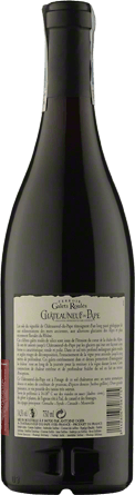 Wino Caves des Papes Galets Roules Chateauneuf Du Pape A.O.C. - Czerwone, Wytrawne