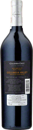 Wino Columbia Crest Grand Estates Merlot Columbia Valley - Czerwone, Wytrawne