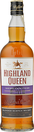 Alkohole mocne Highland Queen Blended Scotch Whisky Sherry Cask Finish - Inne, Inne
