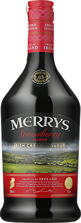 Alkohole mocne Merrys Strawberry Irish Cream Liqueur - Inne, Inne