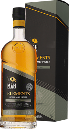 Alkohole mocne M&H Elements Peated Cask Whisky - Inne, Inne