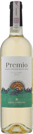 Wino Santa Carolina Premio White Central Valley D.O. 0,75 l