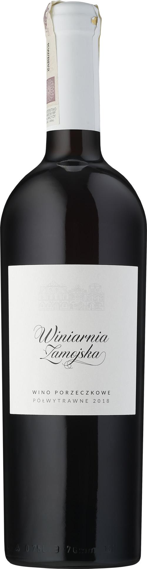 Winiarnia Zamojska Czerwona Porzeczka Czerwone Polwytrawne Portal Winezja Pl
